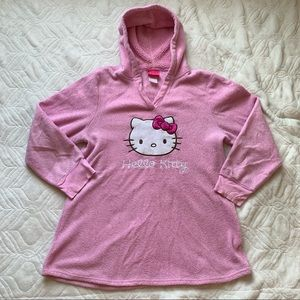 Fuzzy Hello Kitty Sleepwear Hoodie